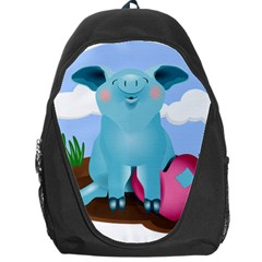 Pig Animal Love Backpack Bag