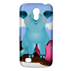 Pig Animal Love Galaxy S4 Mini by Nexatart
