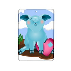 Pig Animal Love Ipad Mini 2 Hardshell Cases by Nexatart