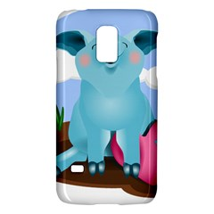 Pig Animal Love Galaxy S5 Mini by Nexatart