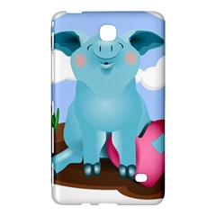 Pig Animal Love Samsung Galaxy Tab 4 (8 ) Hardshell Case
