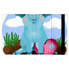 Pig Animal Love Apple Ipad Pro 12 9   Flip Case