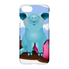 Pig Animal Love Apple Iphone 7 Hardshell Case