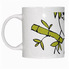 Panda China Chinese Furry White Mugs by Nexatart