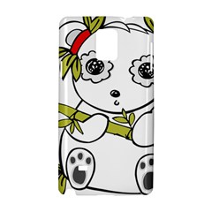 Panda China Chinese Furry Samsung Galaxy Note 4 Hardshell Case by Nexatart