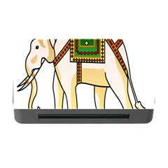 Elephant Indian Animal Design Memory Card Reader With Cf by Nexatart
