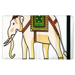 Elephant Indian Animal Design Apple Ipad 3/4 Flip Case