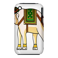 Elephant Indian Animal Design Iphone 3s/3gs by Nexatart