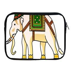 Elephant Indian Animal Design Apple Ipad 2/3/4 Zipper Cases