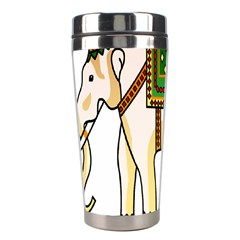 Elephant Indian Animal Design Stainless Steel Travel Tumblers