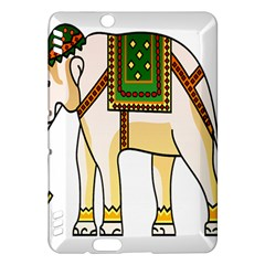Elephant Indian Animal Design Kindle Fire Hdx Hardshell Case by Nexatart