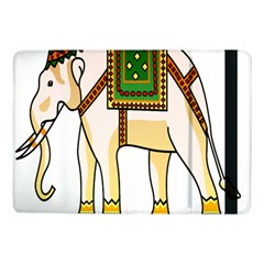 Elephant Indian Animal Design Samsung Galaxy Tab Pro 10 1  Flip Case by Nexatart