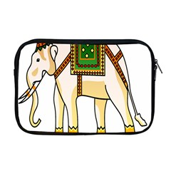 Elephant Indian Animal Design Apple Macbook Pro 17  Zipper Case