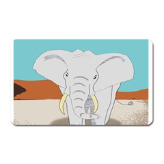 Africa Elephant Animals Animal Magnet (rectangular)