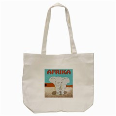 Africa Elephant Animals Animal Tote Bag (cream) by Nexatart
