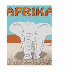 Africa Elephant Animals Animal Large Garden Flag (two Sides)