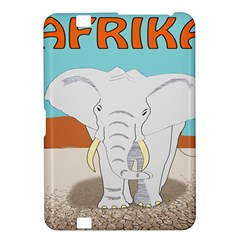 Africa Elephant Animals Animal Kindle Fire Hd 8 9  by Nexatart