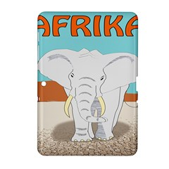 Africa Elephant Animals Animal Samsung Galaxy Tab 2 (10 1 ) P5100 Hardshell Case  by Nexatart