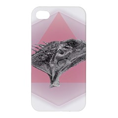 Lizard Hexagon Rosa Mandala Emblem Apple Iphone 4/4s Premium Hardshell Case