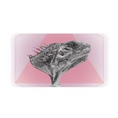 Lizard Hexagon Rosa Mandala Emblem Satin Wrap by Nexatart