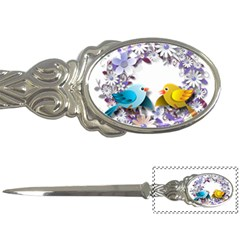 Flowers Floral Flowery Spring Letter Openers by Nexatart