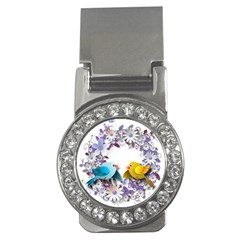 Flowers Floral Flowery Spring Money Clips (cz)  by Nexatart