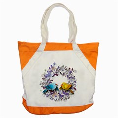 Flowers Floral Flowery Spring Accent Tote Bag by Nexatart