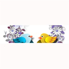 Flowers Floral Flowery Spring Large Bar Mats