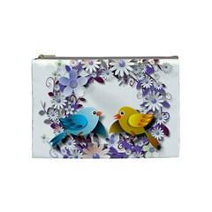 Flowers Floral Flowery Spring Cosmetic Bag (medium)