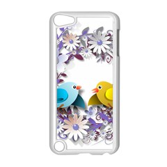Flowers Floral Flowery Spring Apple Ipod Touch 5 Case (white) by Nexatart