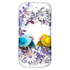 Flowers Floral Flowery Spring Samsung Galaxy S3 S Iii Classic Hardshell Back Case by Nexatart