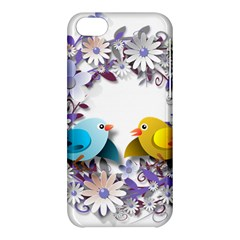 Flowers Floral Flowery Spring Apple Iphone 5c Hardshell Case by Nexatart