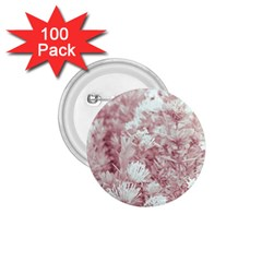 Pink Colored Flowers 1 75  Buttons (100 Pack)  by dflcprints