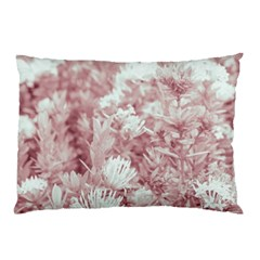 Pink Colored Flowers Pillow Case by dflcprints