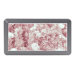 Pink Colored Flowers Memory Card Reader (mini) by dflcprints