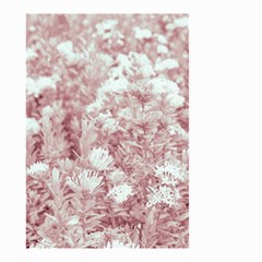 Pink Colored Flowers Small Garden Flag (two Sides) by dflcprints