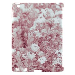 Pink Colored Flowers Apple Ipad 3/4 Hardshell Case (compatible With Smart Cover) by dflcprints
