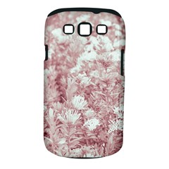 Pink Colored Flowers Samsung Galaxy S Iii Classic Hardshell Case (pc+silicone) by dflcprints