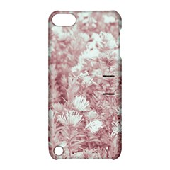 Pink Colored Flowers Apple Ipod Touch 5 Hardshell Case With Stand by dflcprints