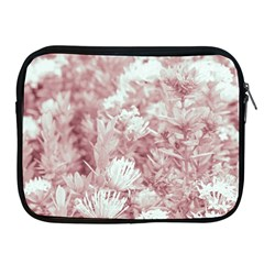 Pink Colored Flowers Apple Ipad 2/3/4 Zipper Cases by dflcprints