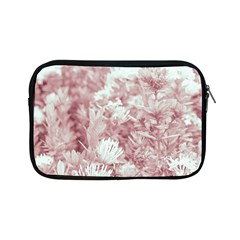 Pink Colored Flowers Apple Ipad Mini Zipper Cases by dflcprints