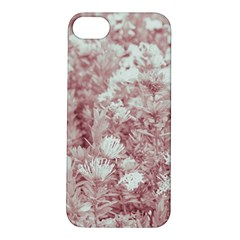 Pink Colored Flowers Apple Iphone 5s/ Se Hardshell Case by dflcprints