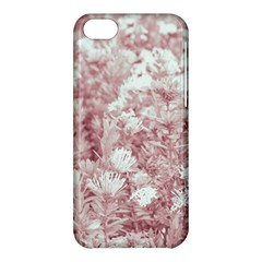 Pink Colored Flowers Apple Iphone 5c Hardshell Case by dflcprints