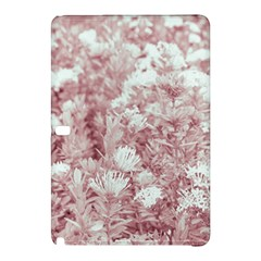 Pink Colored Flowers Samsung Galaxy Tab Pro 10 1 Hardshell Case by dflcprints