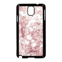 Pink Colored Flowers Samsung Galaxy Note 3 Neo Hardshell Case (black) by dflcprints