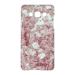 Pink Colored Flowers Samsung Galaxy A5 Hardshell Case  by dflcprints