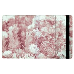 Pink Colored Flowers Apple Ipad Pro 9 7   Flip Case by dflcprints