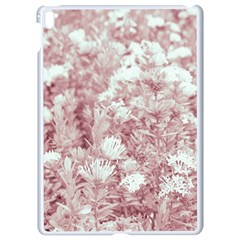 Pink Colored Flowers Apple Ipad Pro 9 7   White Seamless Case by dflcprints