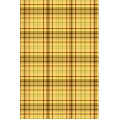Plaid Yellow Fabric Texture Pattern 5 5  X 8 5  Notebooks by paulaoliveiradesign