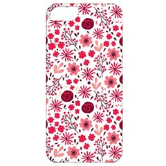 Red Floral Seamless Pattern Apple Iphone 5 Classic Hardshell Case by TastefulDesigns